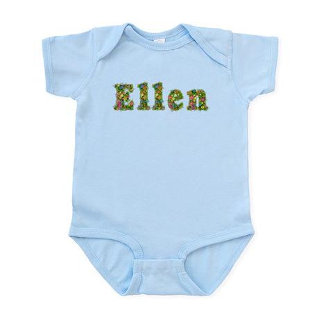Ellen Floral Infant Bodysuit