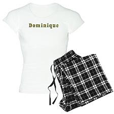 Dominique Floral Pajamas