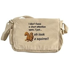 Oh Look A Squirrel Messenger Bag