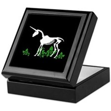 Unicorn Skeleton Keepsake Box
