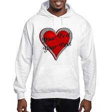 Crimson Heart Hoodie
