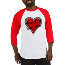 Crimson Heart Baseball Jersey
