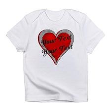 Crimson Heart Infant T-Shirt
