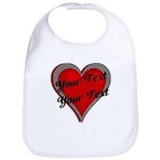 Crimson Heart Bib