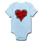 Crimson Heart Onesie