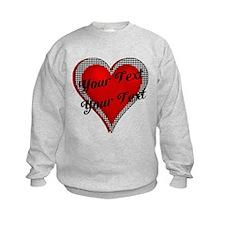 Crimson Heart Sweatshirt