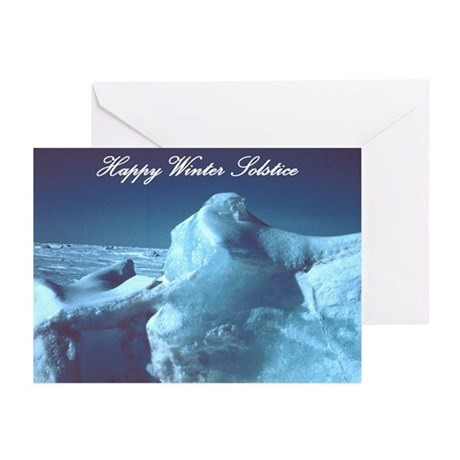 Glacial Beauty Solstice Cards (Pk of 10)