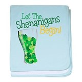 Shenanigans baby blanket