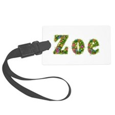 Zoe Floral Luggage Tag