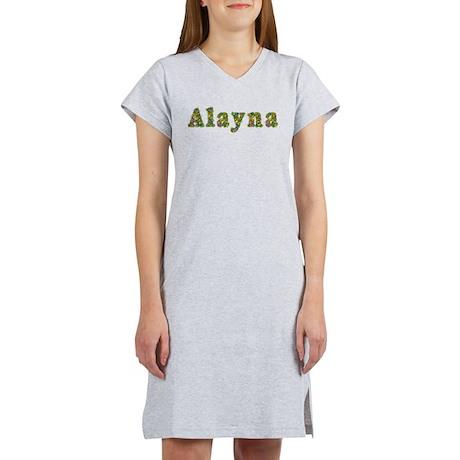 Alayna Floral Women's Nightshirt