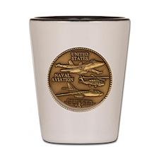 Bronze Naval Aviation Centennial Shot Glass
