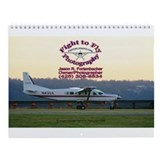 Cute Airplane Wall Calendar