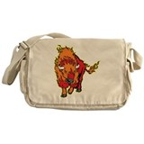 Fire Bison Messenger Bag