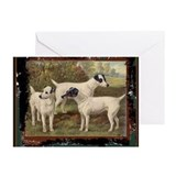 Antique Fox Terriers Greeting Cards (Pk of 10)