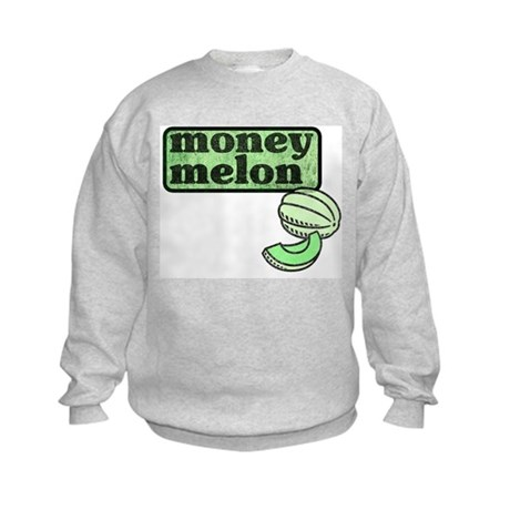 Honeydew: The Money Melon Kids Sweatshirt