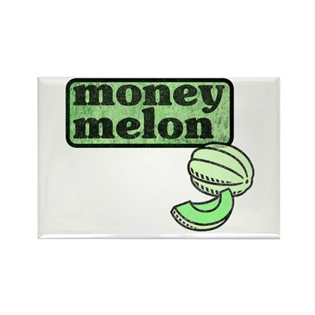 Honeydew: The Money Melon Rectangle Magnet