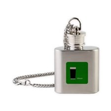 iStout Green Flask Necklace