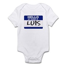 Hello My Name Is Luis - Infant Bodysuit