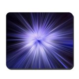 Iced Blue Star - Mousepad