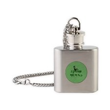 A Leprechaun Made Me Do It Flask Necklace