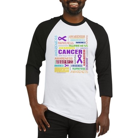 GIST Cancer Awareness Collage Baseball Jersey