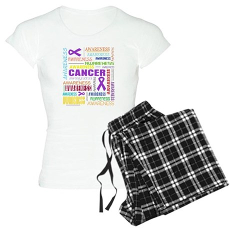 GIST Cancer Awareness Collage Women's Light Pajama