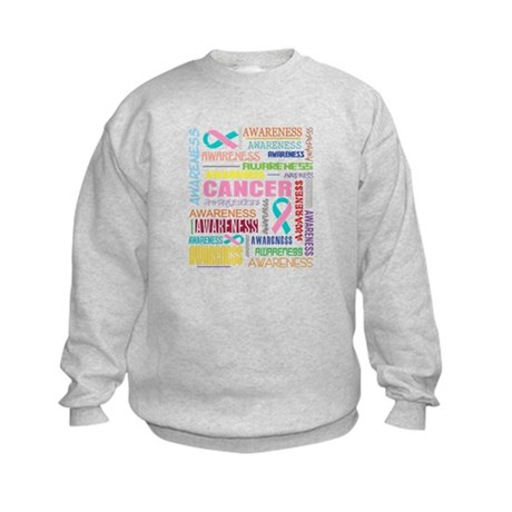 Hereditary Breast Cancer Awareness Kids Sweatshirt
