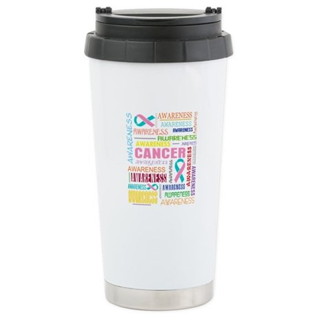Hereditary Breast Cancer Awareness Ceramic Travel