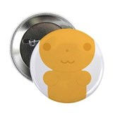 Gummi Bear - Orange 2.25&quot; Button