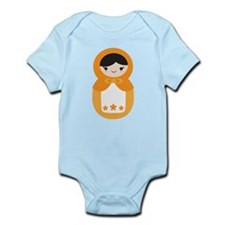Matryoshka Doll - Orange Infant Bodysuit