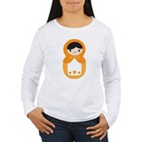 Matryoshka Doll - Orange T-Shirt