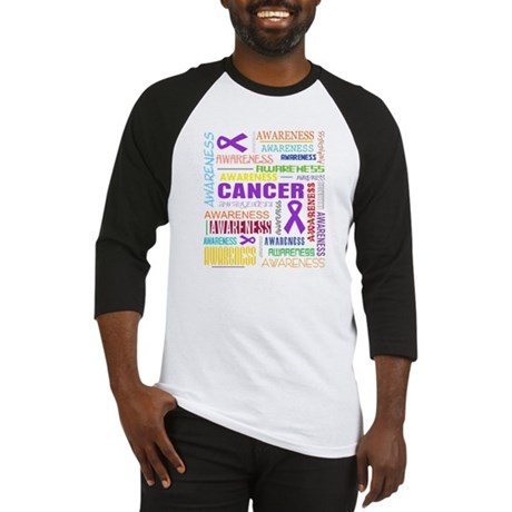 Leiomyosarcoma Awareness Collage Baseball Jersey