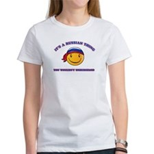 Russian Smiley Designs Tee