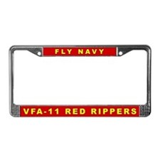 VFA-11 License Plate Frame