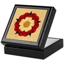 Tudor Rose Keepsake Box