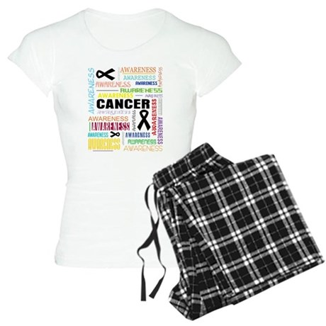 Melanoma Awareness Collage Women's Light Pajamas
