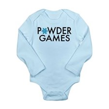 Powder Games Long Sleeve Infant Bodysuit