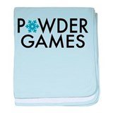 Powder Games baby blanket