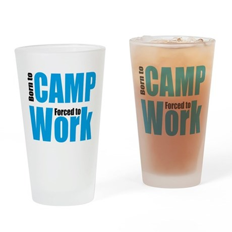 camping Drinking Glass