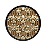 Orange English Setters Ornament (Round)