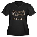 Aboriginals Unite - Idle No More Women's Plus Size