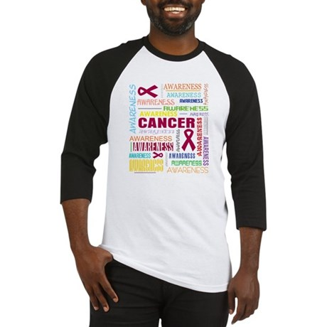 Multiple Myeloma Awareness Collage Baseball Jersey
