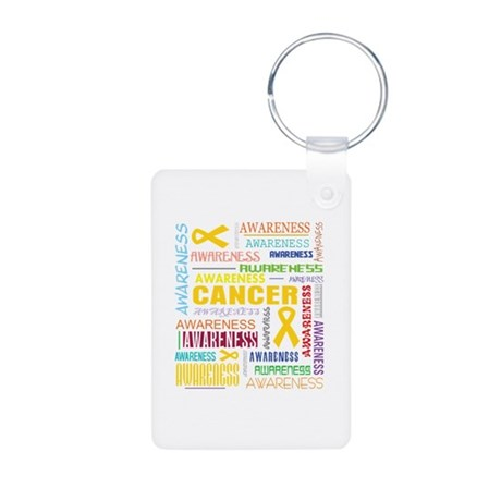 Neuroblastoma Awareness Collage Aluminum Photo Key