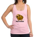 Potatoes Racerback Tank Top
