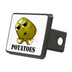 Potatoes Rectangular Hitch Cover