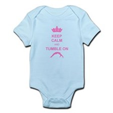 Keep calm and tumble pink Onesie