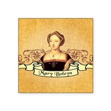 "Mary Boleyn Square Sticker 3"" x 3"""
