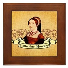 Catherine Howard Framed Tile