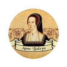 "Anne Boleyn 3.5"" Button"