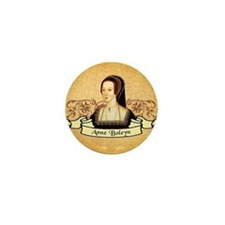 Anne Boleyn Mini Button